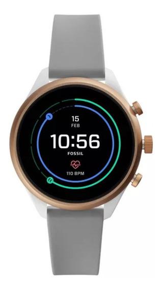 Aceito Propostas! Relógio Smartwatch Fossil Sport Cinza 41mm