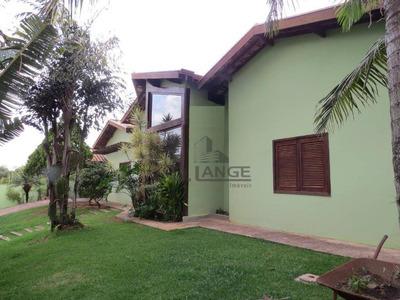 Linda Chácara Com Casa De 370m² - 3 Suítes, Piscina, Excelente Acabamento E Localização - Ch0377