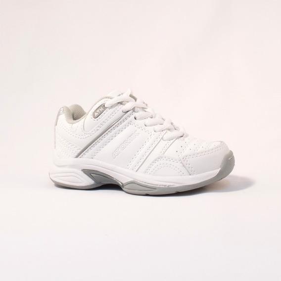 Zapatilla Atomik Footwear - 1986-at-0044-k-blanco Y Gris