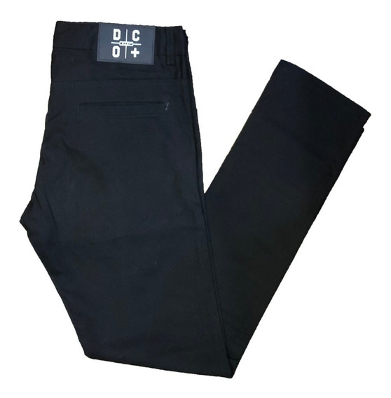 Pantalon De Gabardina Chupin Elastizado