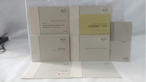 Manual Do Proprietário Nissan Sentra 2010
