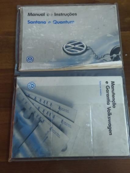 Manual De Instrução Santana E Quantum 91 A 98 Original