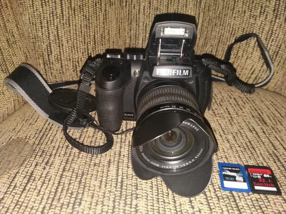 Camera Fujifilm Finepix Hs30 Exr Com Tripé, Card De 32 E 8gb