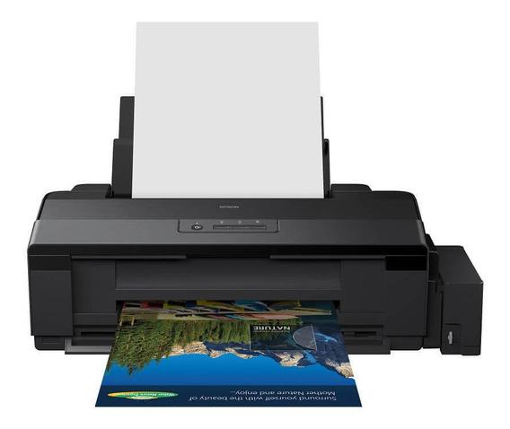 Impresora a color Epson EcoTank L1800 110V/220V negra