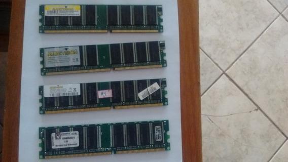 Memoria Ddr 4x1gb Pc3200 400mhz 4x1gb