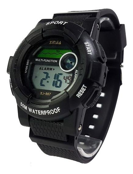 Relógio Infantil Tatico Estilo G-shock Completo De Tudo Top!
