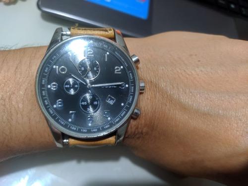 Relógio Fossil Analógico Ffs-4310 Funcionando Perfeitamente