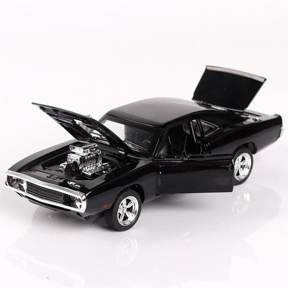 Miniatura Velozes E Furiosos Dodge Charger 70 Em Metal 1:32