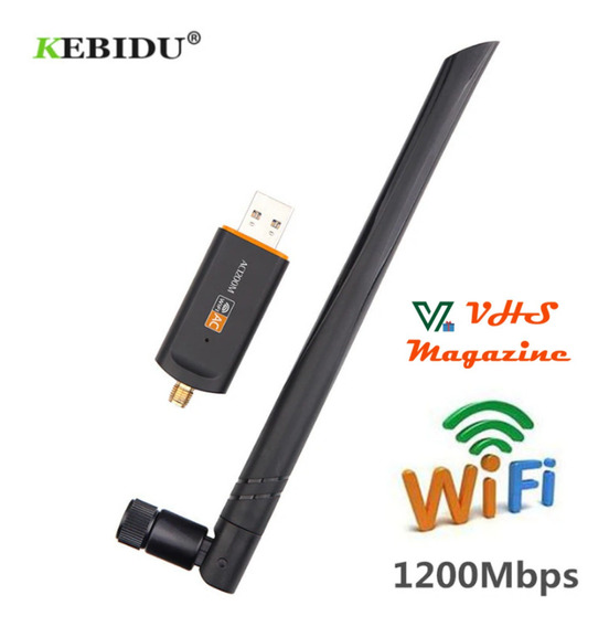 Adaptador Usb 3.0 Wireless Dual Band Ac1200 5ghz Sku012