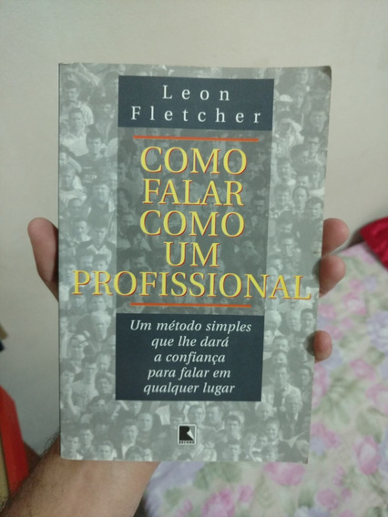 Livro Como Falar Como Um Profissional