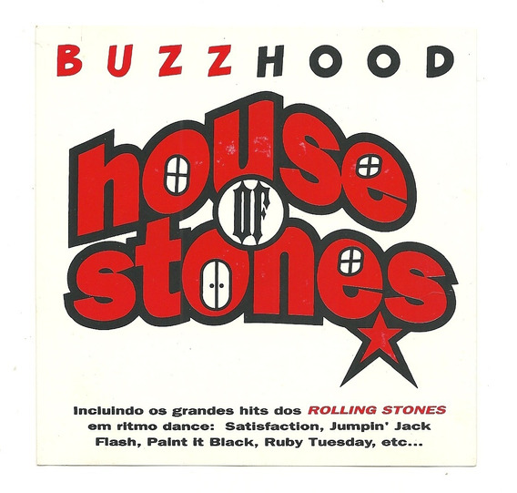 Cd Buzz Bood House Of Stones - Hits Dos Rolling Stones