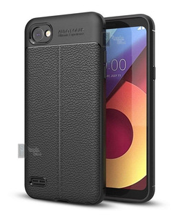 Funda Tpu Alto Impacto Textura Cuero LG G6 Q6 V30