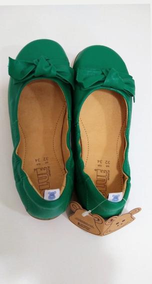 Sapatilha Blue Green