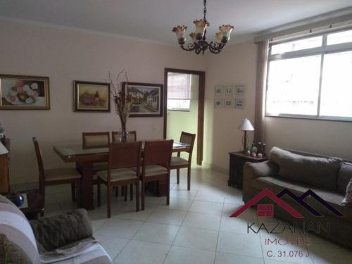 Sobrado 3 Dormitórios No Campo Grande Em Santos - 3252