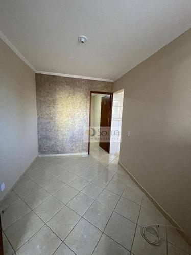 Apartamento Com 2 Dormitórios Para Alugar, 46 M² Por R$ 700,00/mês - Conjunto Habitacional Padre Anchieta - Campinas/sp - Ap0559