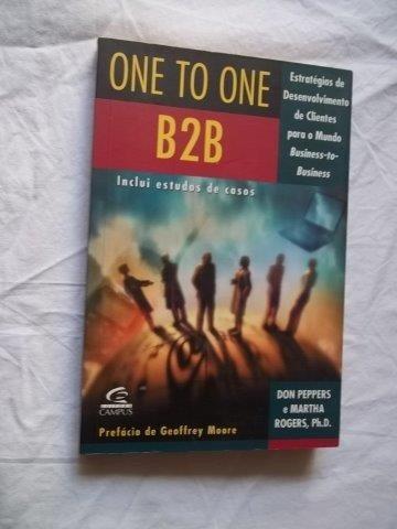 * Livro - One To One - B2b - Administração