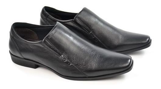 E Sapato Masc 4301-281g Preto Couro Ferracini