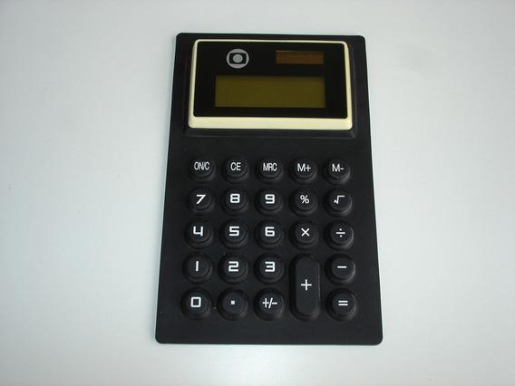 Calculadora Membrana Borracha Promo Globo - Usada No Estado