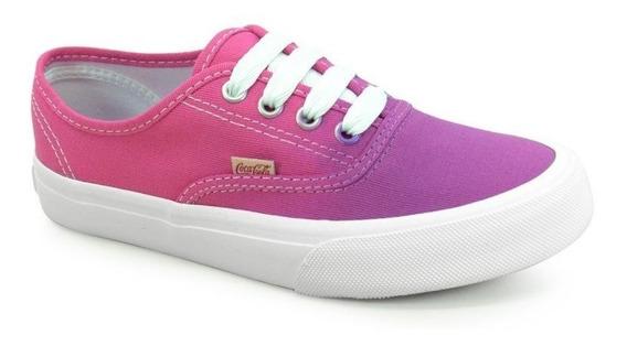 Tênis Coca-cola Kick Ombre Pink Roxo - 833.cc0762