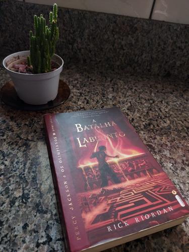 Percy Jackson E A Batalha No Labirinto - Livro Usado