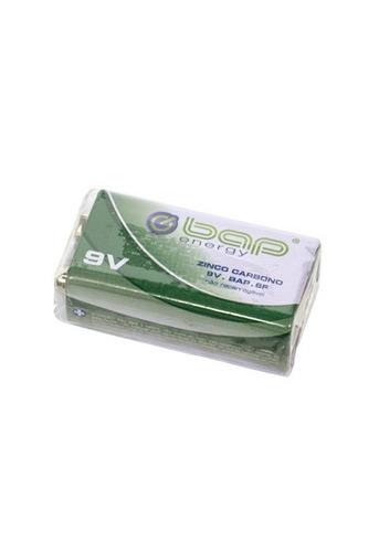 Bateria 9v De Zinco Carbono Bap Energy + Nf!
