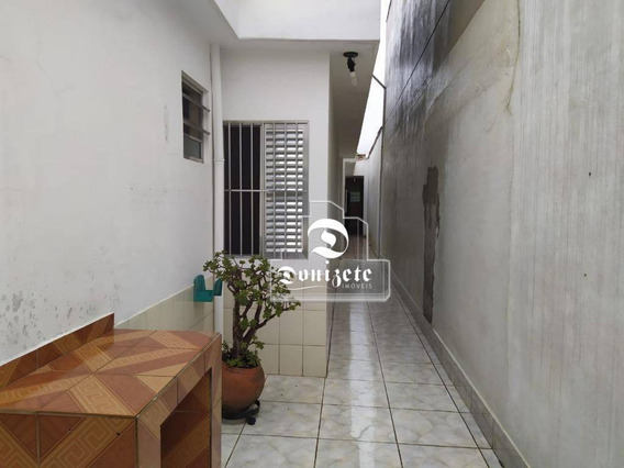 Casa À Venda, 240 M² Por R$ 530.000,01 - Campestre - Santo André/sp - Ca1046