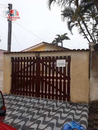 Imagem 1 de 18 de Casa Com 2 Dormitórios À Venda, 61 M² Por R$ 195.000,00 - Itaóca - Mongaguá/sp - Ca5111
