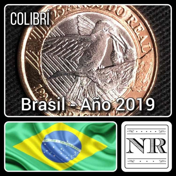 Brasil - 1 Real - Año 2019 - 25° Del Real - Colibri