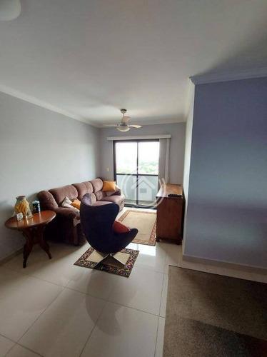 Apartamento Com 3 Dormitórios À Venda, 86 M² Por R$ 310.000,00 - Centro - Piracicaba/sp - Ap0816
