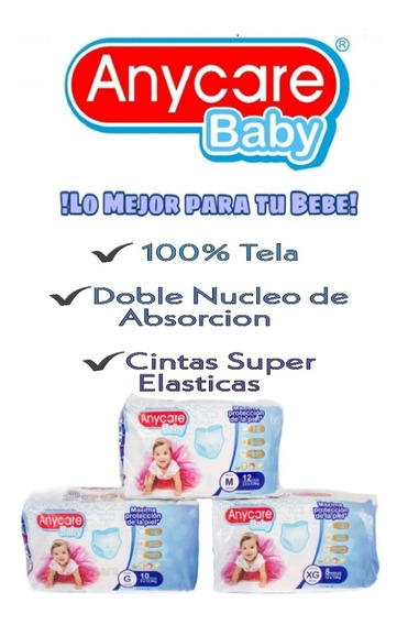 Pañal Desechable Anycare Baby