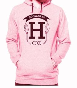 Blusa Moletom Agasalho Harry Potter Hogwarts Várias Cores