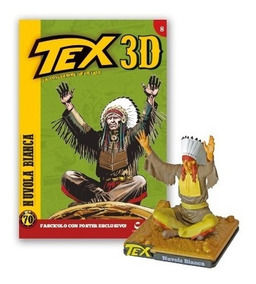 Colecao Tex 3d - Miniatura 8 - Nuvola Bianca - Bonellihq G19