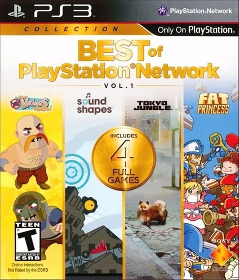 Jogo Best Of Playstation Network Vol.1 Ps3 / Novo E Lacrado