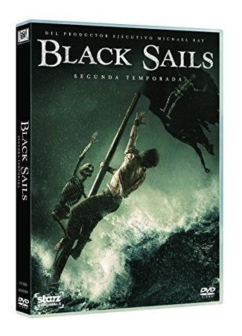 Imagen 1 de 2 de Black Sails Segunda Temporada 2 Serie Dvd