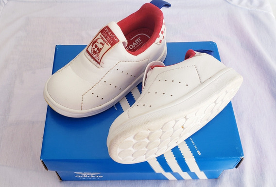 Zapatillas Niño Stan Smith 360, Original, Talle 21.