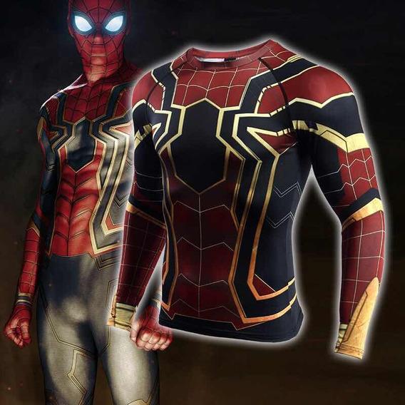 Hombre Araña Liga Justicia Compresión Tarda 4-6 Se