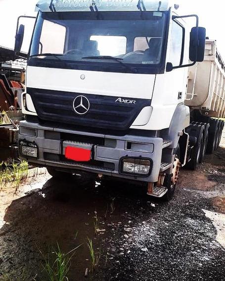 Mercedes Benz Axor 3344 Cavalo Traçado