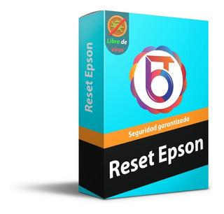 Reset Epson Tx - Libre De Virus - Activación Ilimitada