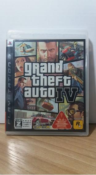 Grand Theft Auto 4 Ps3 Usado