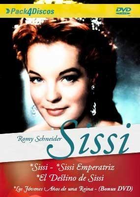 Sissi Subtitulada 4 Discos Dvd Mercado Libre