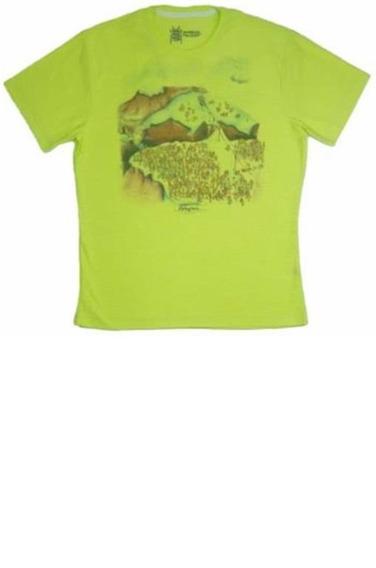 Camiseta T-shirt O Mc Verde Limão Claro