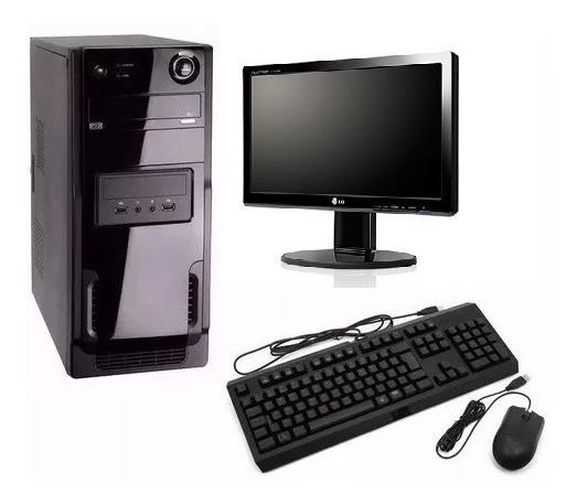 Cpu Pc Intel Core I5 3ªg+4gb+monitor 19,5 +brinde! Promoção!