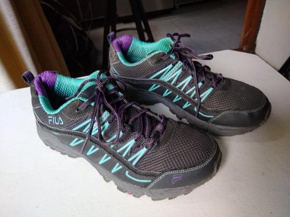 Zapatillas Deportivas De Mujer Fila Imp. De Usa -nro. 39 1/2