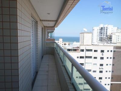 Apartamento Em Praia Grande, 02 Dormitórios Sendo 01 Suite, Lazer Completo Na Aviação Ap820 - Ap0820