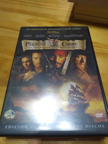 Piratas Del Caribe. La Maldición Del Perla... - Box 2 Dvds