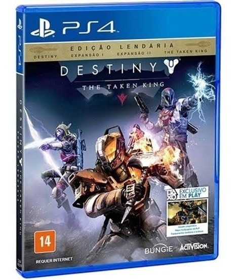 Jogo Destiny The Taken King Legendary Edition - Ps4 Lacrado!