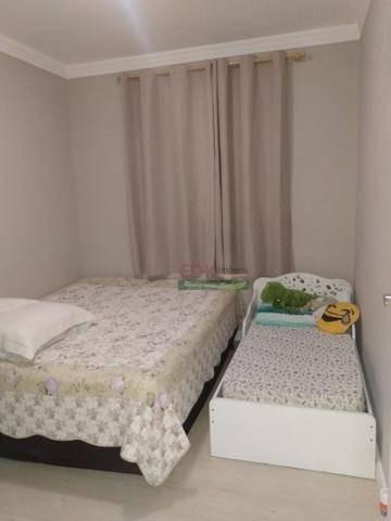 Apartamento Com 3 Dormitórios À Venda, 49 M² Por R$ 267.000 - Vila Caputera - Mogi Das Cruzes/sp - Ap7118
