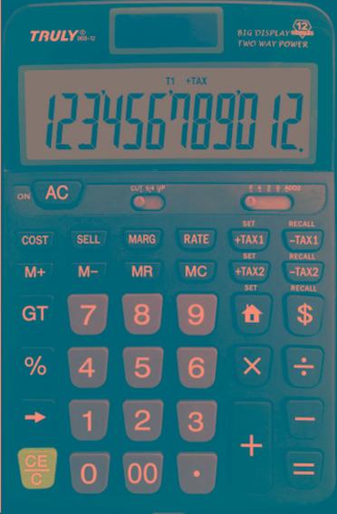 Calculadora De Mesa Truly 968-12