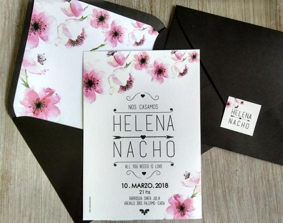 20 Invitaciones Tarjetas Casamiento Quince Años 15 Boda