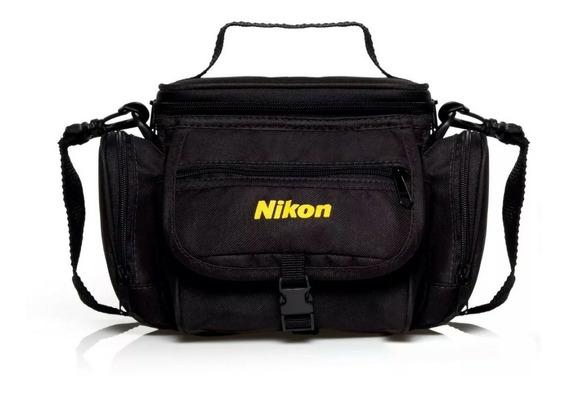 Bolsa Case Nikon Para Câmera/lentes/acessórios Frete Gratis
